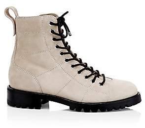 Jimmy Choo Women's Cruz Suede Combat Boots