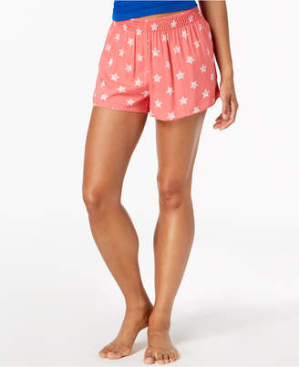 Jenni by Jennifer Moore Printed Boxer Shorts, Created for Macy's