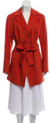 Akris Cashmere Belted Coat