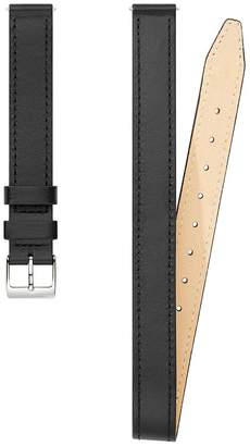 Rebecca Minkoff Silver Tone Wrap Leather Strap, 14Mm