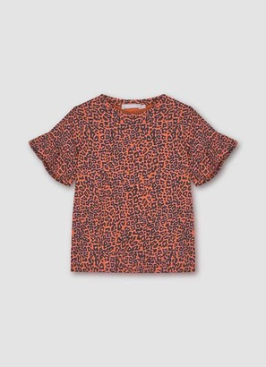 Mint Velvet Margot Leopard Jersey T-Shirt