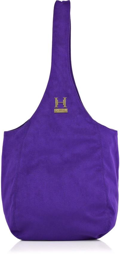 Halston Heritage Slouchy ultrasuede Sac Bag