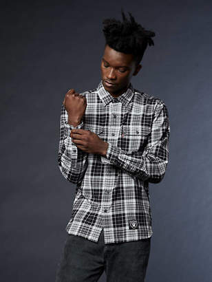 Levi's NFL Grid Iron Plaid Shirt