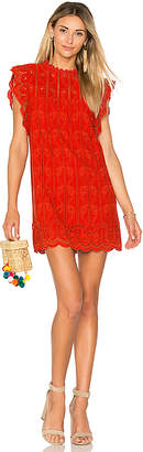 Tularosa Clayton Dress in Red $218 thestylecure.com