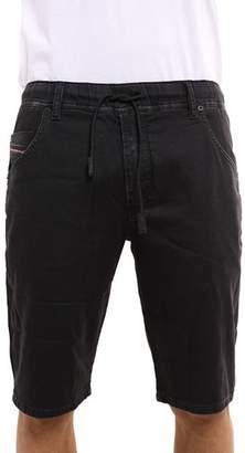 Diesel Kroo Drawstring Regular Fit Denim Shorts