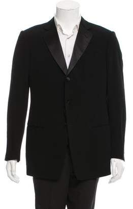 Giorgio Armani Wool Notch-Lapel Tuxedo Jacket w/ Tags