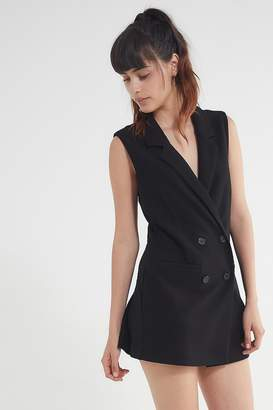 Blaque Label Double-Breasted Blazer Dress
