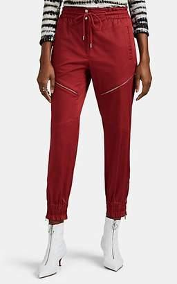 Robert Rodriguez Women's Harper Cotton Utility Jogger Pants - Red