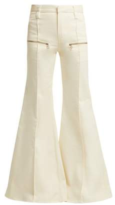 Chloé Flared Jeans - Womens - Cream