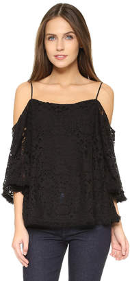 Bailey44 Tusk Lace Top $174 thestylecure.com