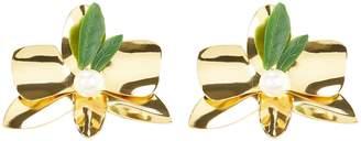 Mercedes Salazar Flower Stud Earrings