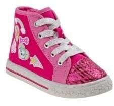 Nickelodeon Girl's High-Top Kid's Sneakers