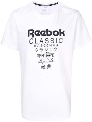 Reebok basic logo T-shirt