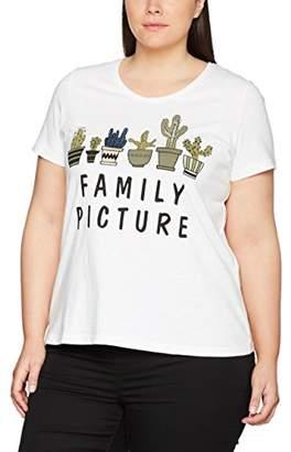 Ulla Popken Women's Family Picture T-Shirt