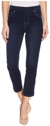 Tribal Pull-On 25 Dream Jeans Capris in Navy Blast Women's Jeans