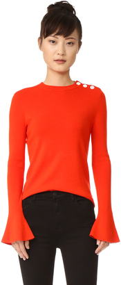 Tory Burch Melody Sweater $250 thestylecure.com