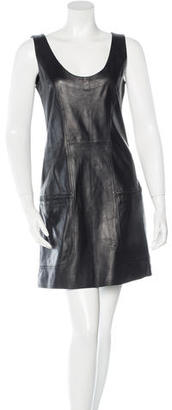 Alice by Temperley Leather Sleeveless Dress w/ Tags $175 thestylecure.com