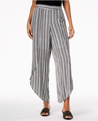 Thalia Sodi Wide-Leg Tulip-Hem Pants, Created for Macy's