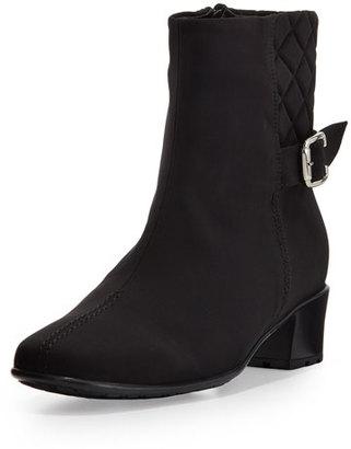 Sesto Meucci Yannik Waterproof Ankle Boot, Black $250 thestylecure.com
