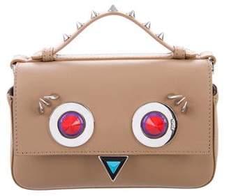 Fendi Leather Hypnoteyes Crossbody Bag