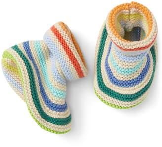 Gap Stripe Garter Knit Booties