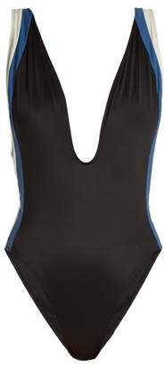 Solid & Striped The Zoe Swimsuit - Womens - Black Multi