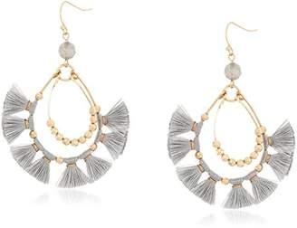 Panacea Tassel Fringe Drop Earrings