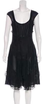Christian Lacroix Silk Midi Dress