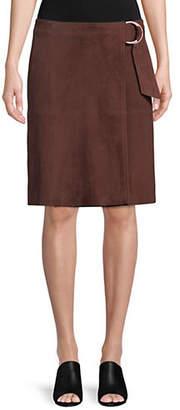 Max Mara Goriza Leather Skirt