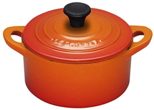 Le Creuset Enameled Cast-Iron 1/3 Quart Mini Cocotte, Flame