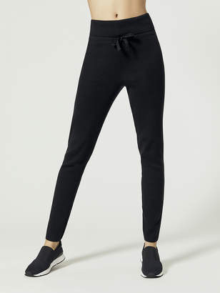 Warm Up Knitted Fold On Waist Tights