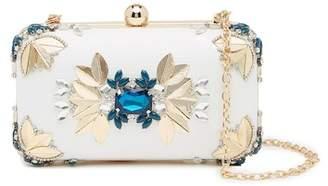 Sondra Roberts Embellished Box Clutch