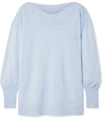 Hatch The Caly Merino Wool Sweater - Sky blue