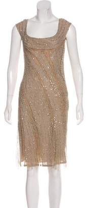 Elie Saab Embellished Cocktail Dress
