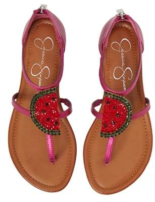 Jessica Simpson Konnie Crystal Watermelon Embellished Sandal