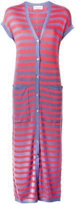 Sonia Rykiel striped maxi cardigan
