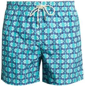 Le Sirenuse LE SIRENUSE, POSITANO Siren Flowers-print swim shorts