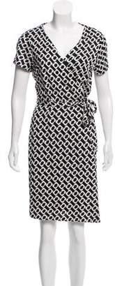 Diane von Furstenberg New Julian Two Silk Mini Dress