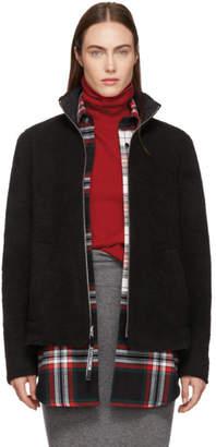 Stutterheim Reversible Black Varby Zip Jacket
