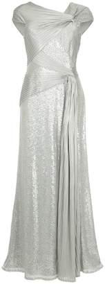Tadashi Shoji knot detail gown