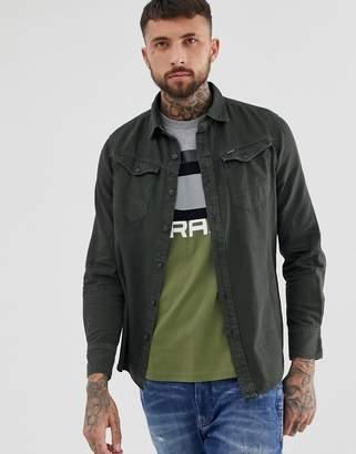 80649208bd1 G Star G-Star Arc slim fit shirt in grey