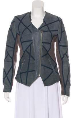 Yigal Azrouel Quilted Leather Jacket w/ Tags