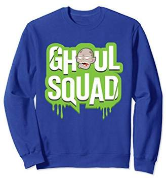 Ghoul Squad Slime Monster Group Crew Funny Sweatshirt
