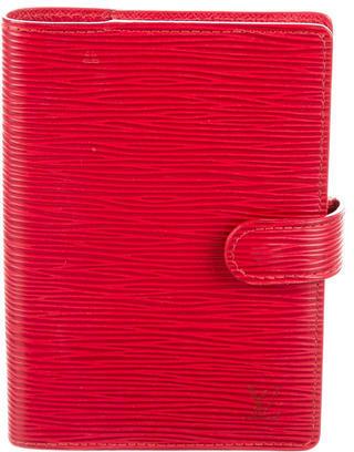 Louis VuittonLouis Vuitton Epi Small Ring Agenda Cover