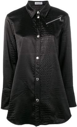 Sonia Rykiel snakeskin effect shirt