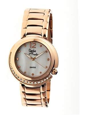 Freda Sophie and Women's 'Lisbon' Swiss Quartz Stainless Steel Watch