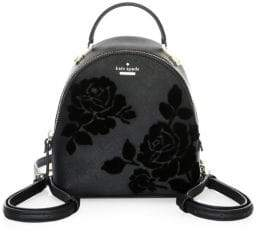 Kate Spade Cameron Street Flock Roses Binx Backpack