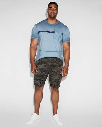 Express 9 Inch Camo Slim Fit Stretch Shorts