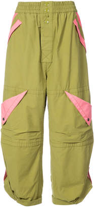 Marc Jacobs cropped parachute trousers