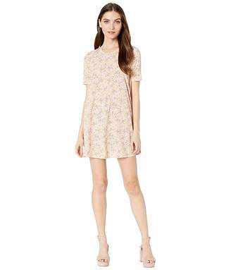 BCBGeneration Day Back Yoke A-Line Dress